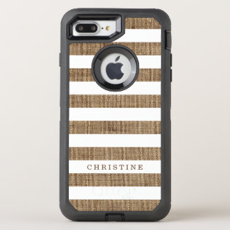 Rustikales Land Striped OtterBox Defender iPhone 7 Plus Hülle