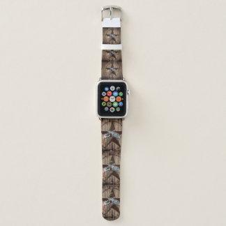 rustikales Texas-Sterncowboypistolen-Westernland Apple Watch Armband