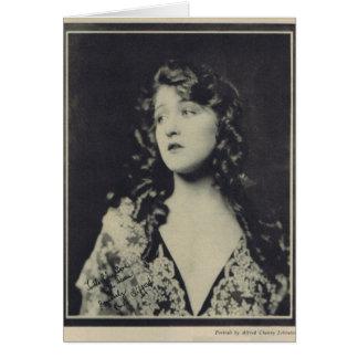 Ruth Clifford 1923 Vintages Porträt Karte
