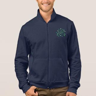 Rüttler der Klee-Blätter-Männer Zip Jacke