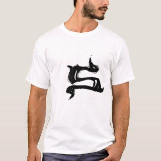 S-Buchstabe Teufel-Shirt T-Shirt