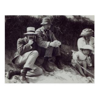 Sächsisches Sydney Turner, Clive Bell und Postkarte