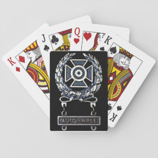 Sachverständige Spielkarten