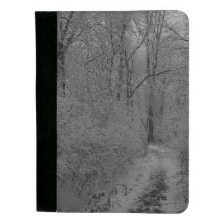 Sacony Weg im Schnee Padfolio