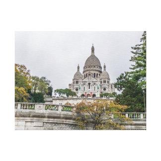 Sacre Coeur Basilika, Paris-Leinwanddruck Leinwanddruck