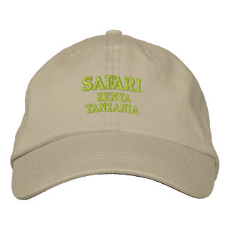 Safari Bestickte Kappe