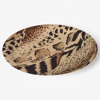 Safari Brown Pappteller