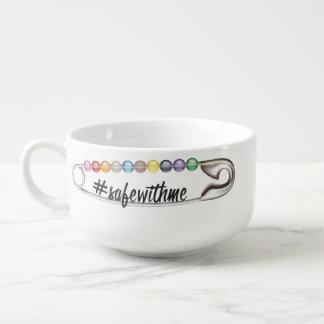 #SafeWithMe Suppen-Tasse Große Suppentasse