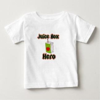 Saft-Kasten-Held-niedlicher Kleinkind-T - Shirt
