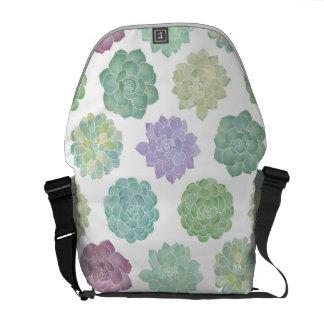 Saftiges Garten-Muster Kurier Tasche