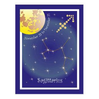 Sagittarius November 23 to December 21 Postkarte