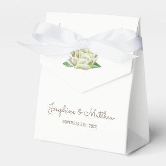 Sahnepfingstrosen-Gastgeschenk Hochzeits-Kästen Geschenkschachtel