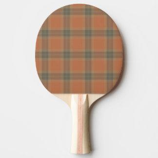 Sahnetartan-Klingeln Pong Paddel Tischtennis Schläger