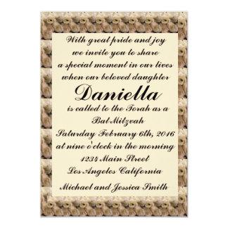 Sahnetulpe-Schläger Mitzvah/Hochzeits-Einladung Karte