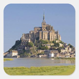 Saint Michel Le Mont in der Region von Quadratischer Aufkleber
