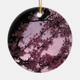 Sakura.jpg Rundes Keramik Ornament