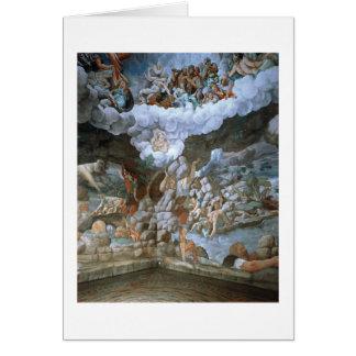 Sala dei Giganti (Fresko) (sehen Sie auch Grußkarte