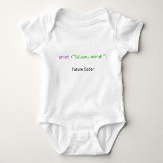 Salaam, Welt - Babybodysuit Baby Strampler