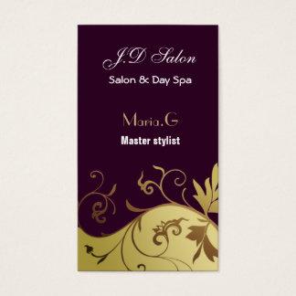 Salon businesscards visitenkarten