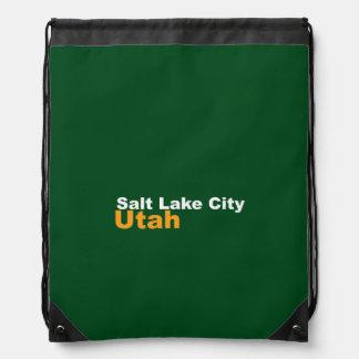 Salt Lake City, Utah Drawstring-Rucksack Turnbeutel