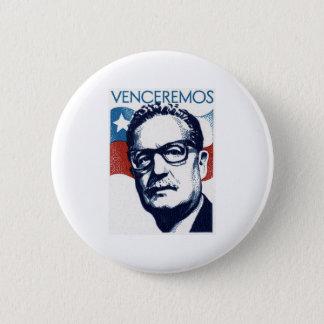 Salvador Allende - Venceremos Runder Button 5,7 Cm