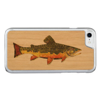 Salvelinus Fontinalis Carved iPhone 8/7 Hülle