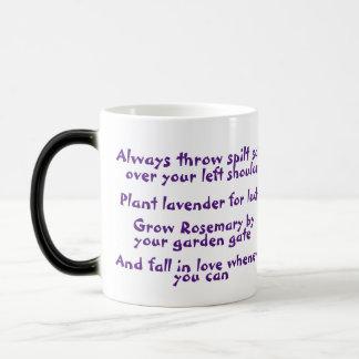 Salz-, Lavendel-, Rosemary- u. Verwandlungstasse