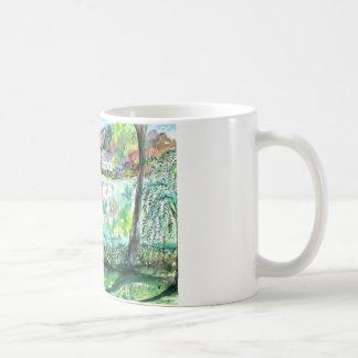 Salz-Teich - Falmouth, MA. erhöht Kaffeetasse
