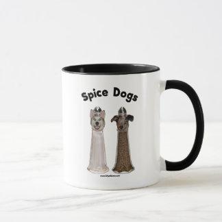 Salz-und Pfeffer-Gewürz-Hunde Tasse