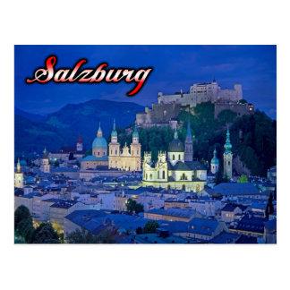 Salzburg-Postkarte Postkarten