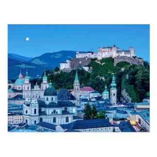 Salzburg-Stadt, Österreich Postkarte