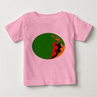 Sambia-Gnarly Flaggen-T - Shirt