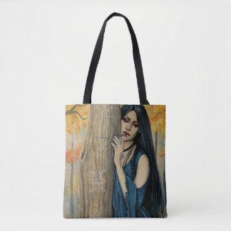 Samhain gotische Herbst-Hexe-Fantasie-Kunst-Tasche