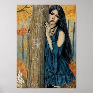Samhain gotisches poster
