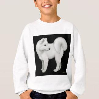 Samoyed-Hund scherzt Sweatshirt