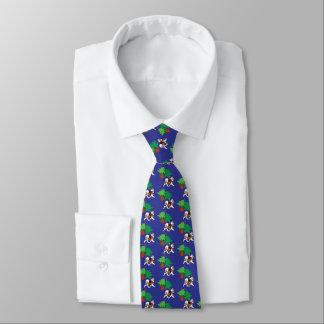 Samoyed-Karussell-Gewohnheits-Krawatte; Rückseite Krawatte