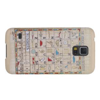 Samsung-Hieroglyphen-Fall Samsung Galaxy S5 Cover