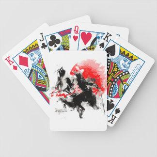 Samurai-Duell Bicycle Spielkarten