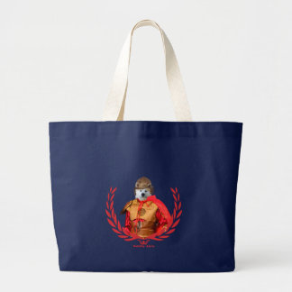Samurai-Taschen-Tasche Akitas Inu Jumbo Stoffbeutel