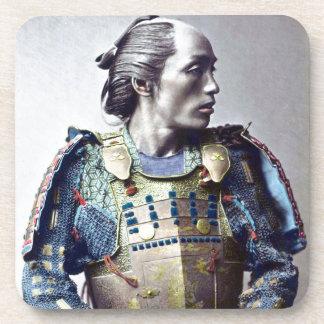 Samurais Getränkeuntersetzer
