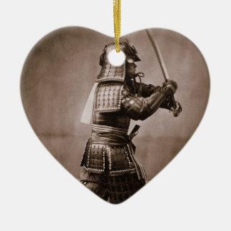 Samurais Keramik Ornament