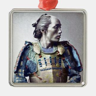 Samurais Silbernes Ornament