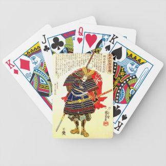 Samurais - Utagawa Kuniyoshi 歌川国芳 Bicycle Spielkarten