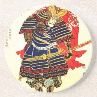 Samurais - Utagawa Kuniyoshi 歌川国芳 Getränkeuntersetzer