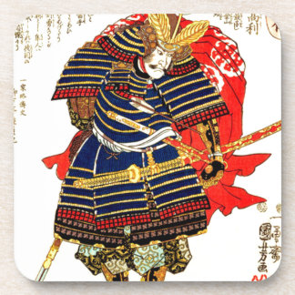 Samurais - Utagawa Kuniyoshi 歌川国芳 Untersetzer