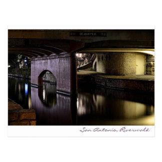 San Antonio, Riverwalk Postkarte