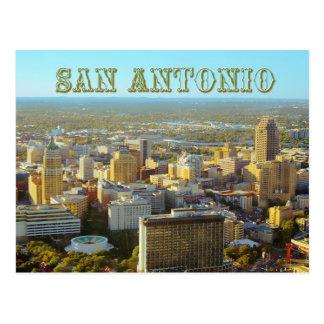 San Antonio, Texas - Luftaufnahme Postkarte