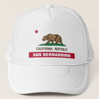 San Bernardino County Truckerkappe