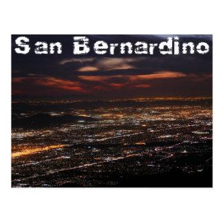 San Bernardino Kalifornien Postkarte