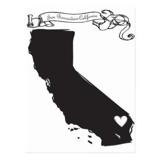 San Bernardino Postkarte